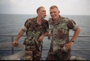Cpl. Paul Flewwellin and Sgt. David Petersen
